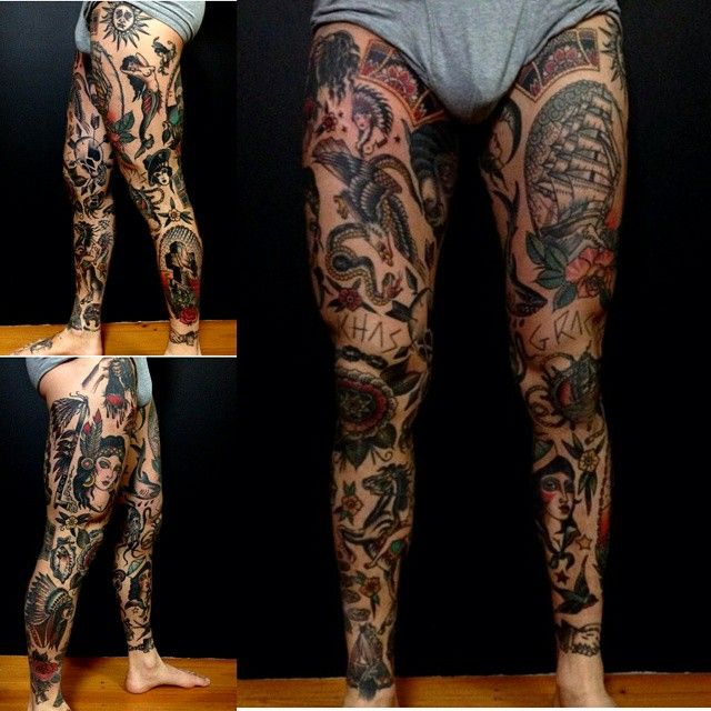 67 best images about Traditional Tattoo Sleeve / Old ...