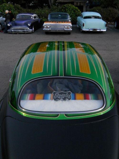 Custom Paint Pinstripe Love Plush Seats Amp Such