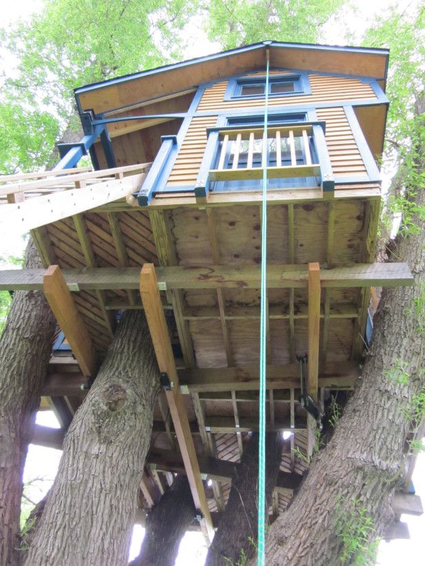treehouse plumbing