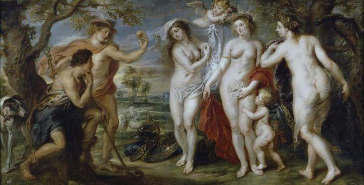 Rubens. Le jugement de Pâris. 1638