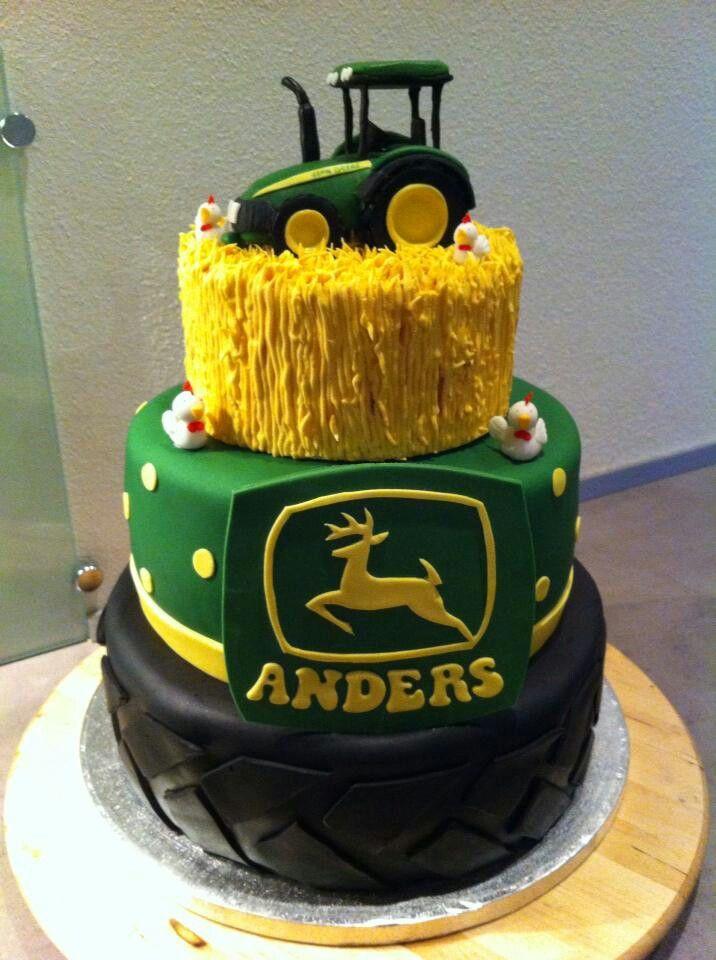 Amazing john deer cake #tractor #cake