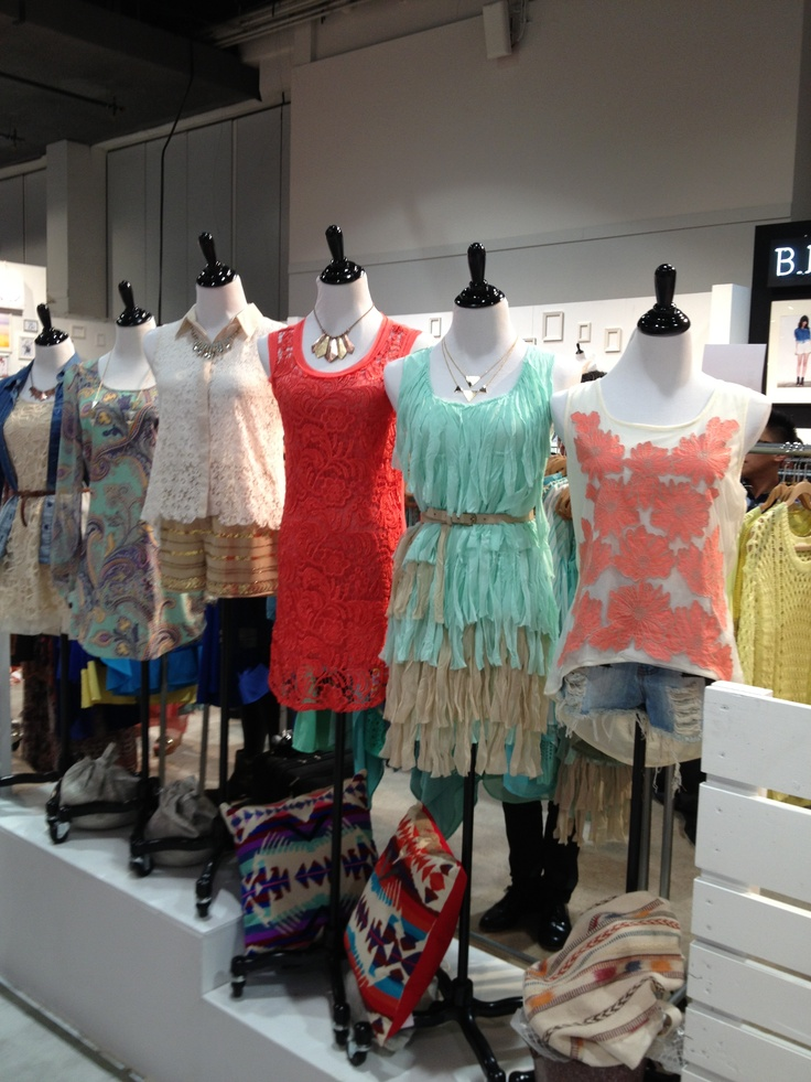 Blue birds booth! Magic 2013 Las Vegas Looks of color www.chicstyleutah.com