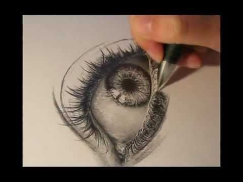 eye drawing http://mydrawingtutorials.com/d17rulez to get FREE drawing lessons. Just enter your email and you'll get free instant access. http://mydrawingtutorials.com Hey dear friends, Here is a video were you can see almost the entire progress of this realism drawing. The progress of the drawing is speed up. Finished drawing can be found her...