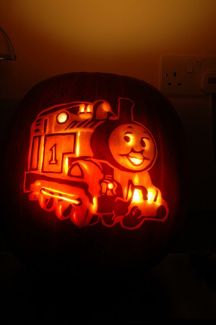 1000 images about jack 39 s obsession with thomas the train for Thomas pumpkin template