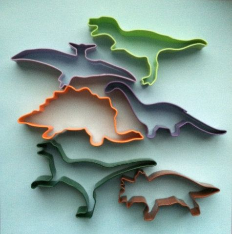 Dinosaur Cookie Cutter Set  Dinosaur Cookie by DIYSweetSupplyCo, $12.88