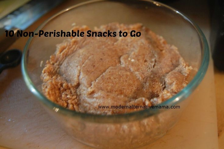 10 Non-Perishable Snacks For Traveling | Modern Alternative Mama