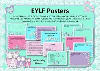 EYLF Posters Owl Design