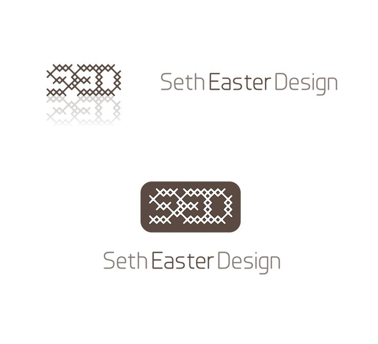 Below are some of the logo explorations I created during a branding process for physical set creators Seth Easter Design. Many of the concepts we knocked around involved referencing real-world objects like walls, theater trusses, lattices, and diffraction spikes that create crosses or X-shapes with bright lights like stars.