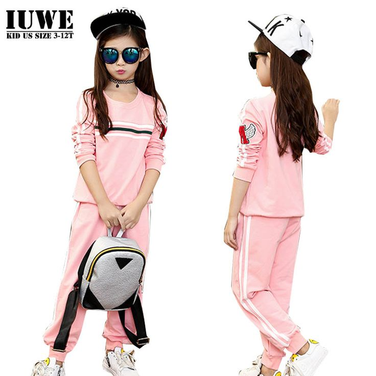 $26.99 (Buy here: https://alitems.com/g/1e8d114494ebda23ff8b16525dc3e8/?i=5&ulp=https%3A%2F%2Fwww.aliexpress.com%2Fitem%2FTracksuit-for-Girls-Boutique-Clothing-for-Girls-Pink-Children-s-Tracksuit-Survetement-Football-Clothing-for-Teen%2F32721011486.html ) Tracksuit for Girls Boutique Clothing for Girls Pink Children's Tracksuit Survetement Football Clothing for Teen of 10 ans for just $26.99