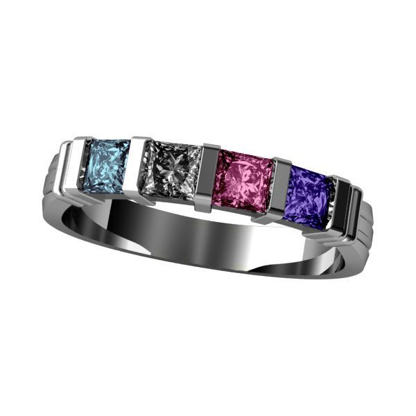 Princess Channel Set Ring