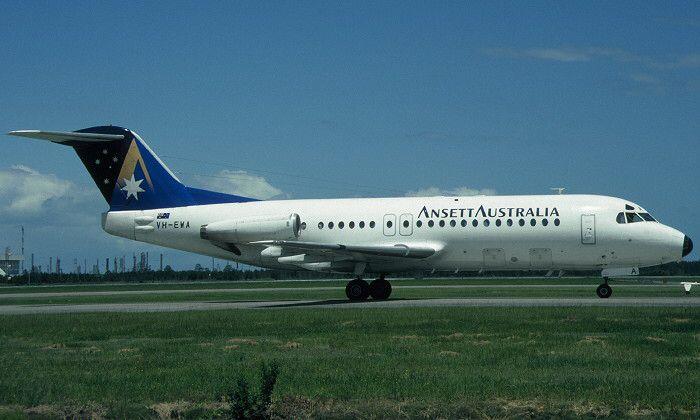Ansett Australia Fokker F28 Fellowship (VH-EWA)