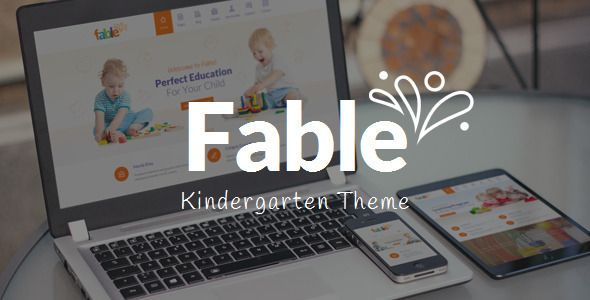 Fable is a responsive WordPress Theme best suitable for kindergarten, child care center, preschool or nursery, school or education related project. Each and every element of the Theme has been tested to ensure it adapts to modern smarthphones and tablets. Tags: wordpress, theme, care, child, children, class, colorful, day care, education, infant, kids, kindergarten, nursery, preschool, school, teacher, timetable.