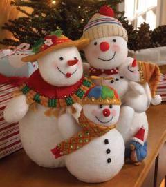 Snowman Family 3D