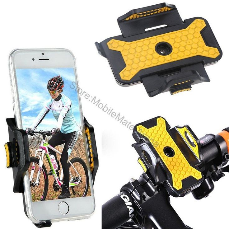 Motorcycle Phone Holder Mobile Cell Smartphone Gps