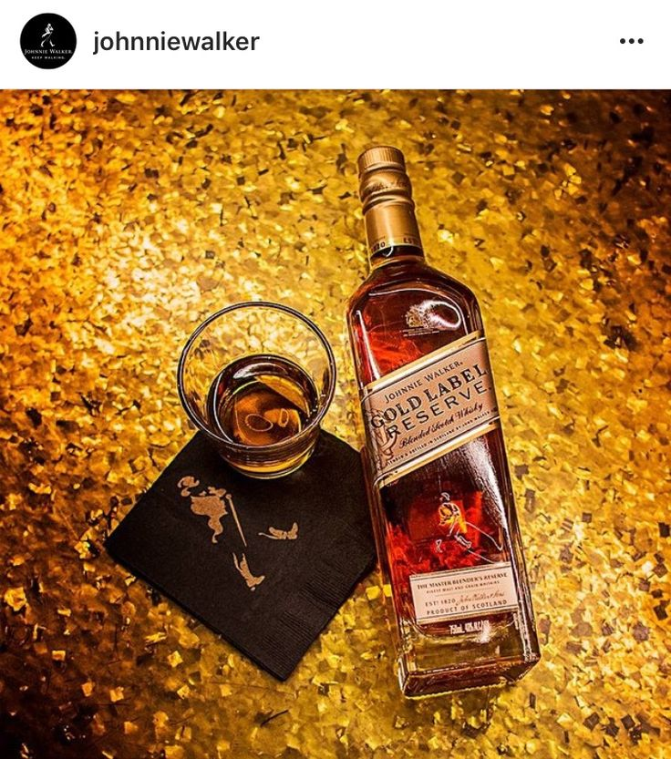 Johnnie Walker® | Gold Label Reserve™