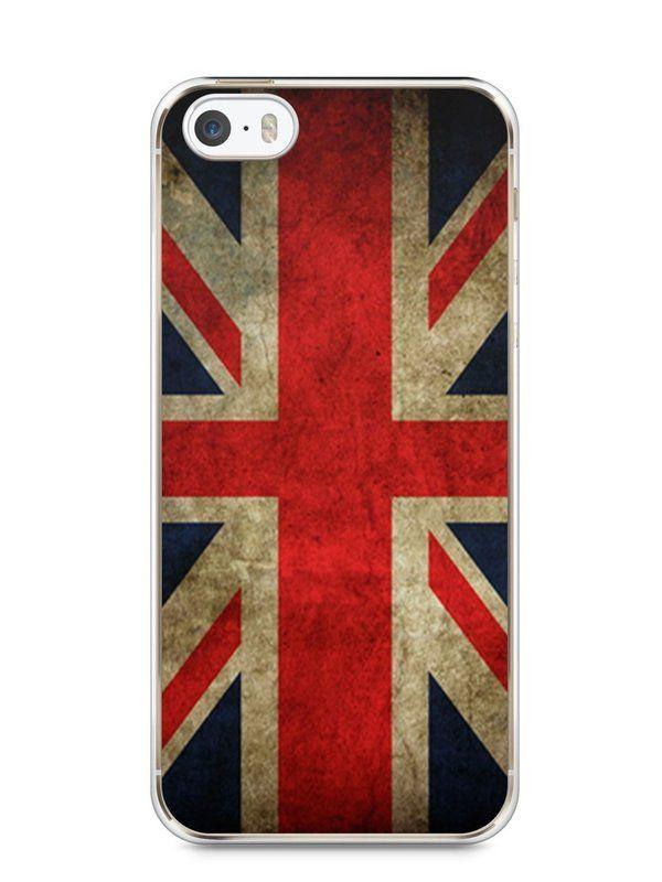 Capa Iphone 5/S Bandeira da Inglaterra - SmartCases - Acessórios para celulares e tablets :)