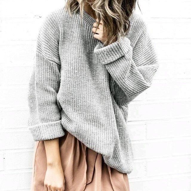 Sweater over a dress / skirt