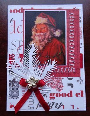 Dytulkowo: jeszcze dwie kartki do kolekcji   Mikołaj z dzwone...