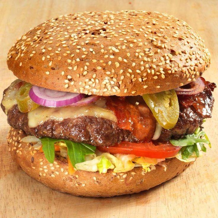 Byens Burger Århus Fast food-restaurant Thorvaldsensgade 1  8000 Aarhus 1000 g. Don OX Ost & bacon