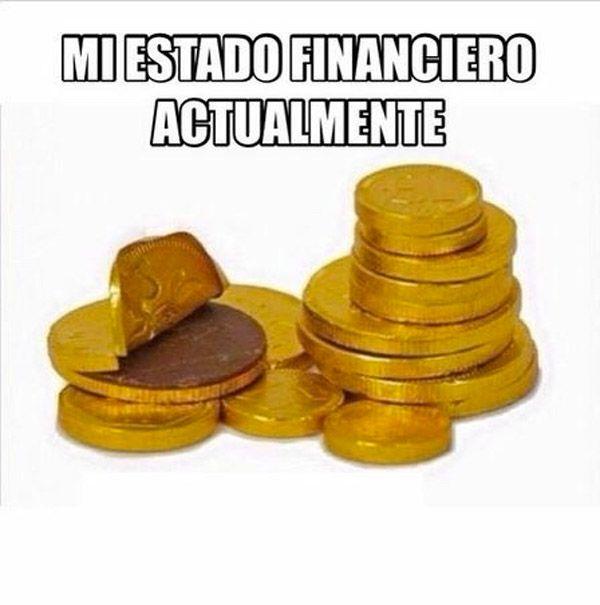 Mi estado financiero actualmente.