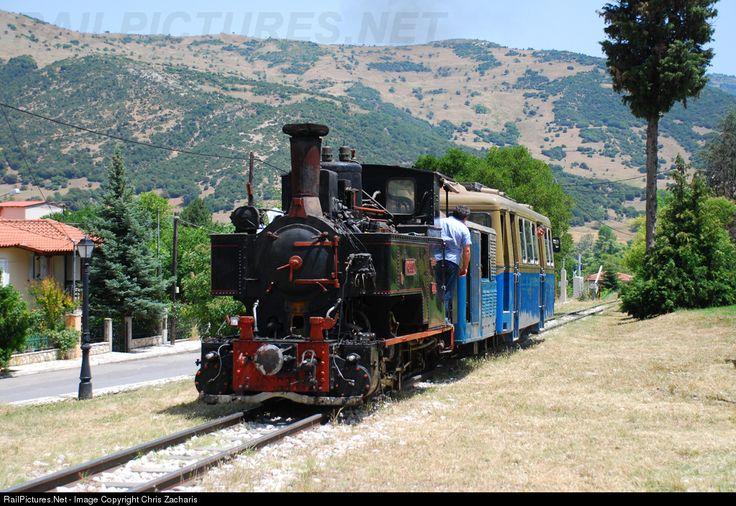 RailPictures.Net Photo: DK8001 + 3005 OSE Hellenic Railways Cail + Decauville at Kalavrita, Greece by Chris Zacharis