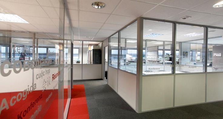 Vitrophanie dans les locaux de MSC & SGCC à Lyon, France