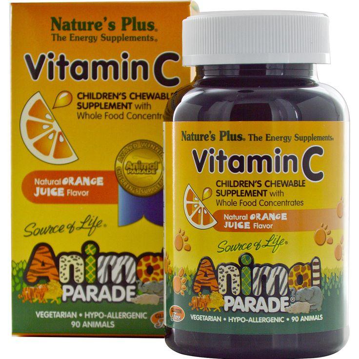 Nature S Plus Source Of Life Animal Parade Vitamin C