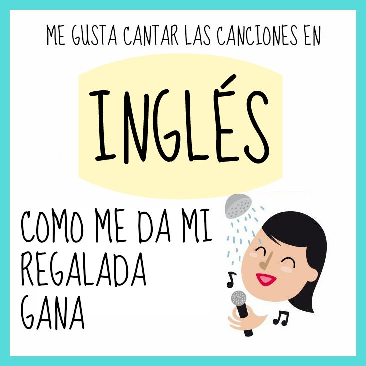 """Me gusta cantar las canciones en inglés como me da mi regalada gana"" #Citas #Frases @Candidman"