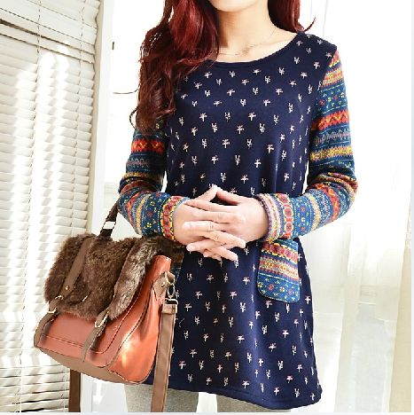 AREALNA 2017 New Women Cute Print Hoodies Autumn winter Long Sleeve Casual Sweatshirts Women thicken Pullovers moletom feminino #Affiliate
