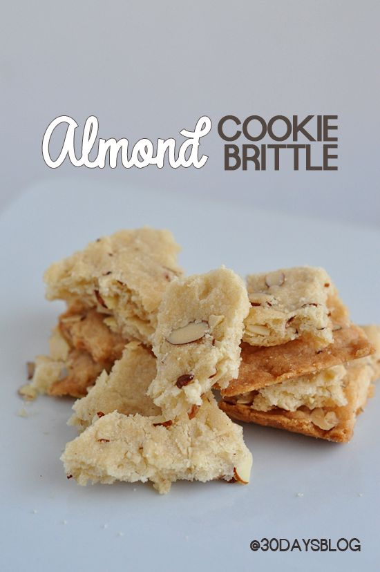 Pretty Much Divine Almond Cookie Brittle