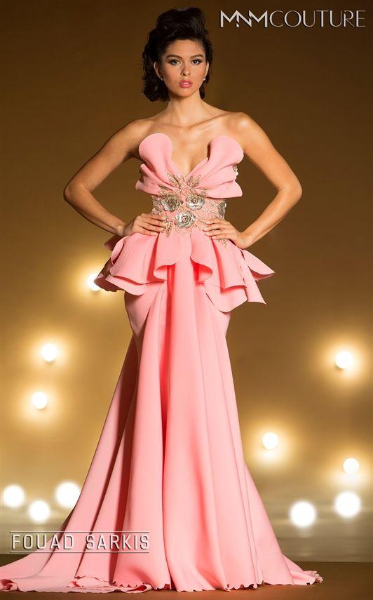 Mejores 60 imágenes de MNM Couture en Pinterest | Vestidos de noche ...