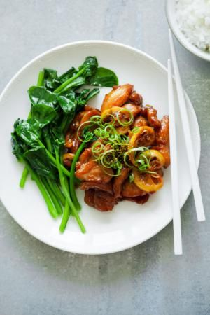 Chinese Bourbon chicken Recipe with Soy Sauce and Ginger: Chinese bourbon chicken recipe