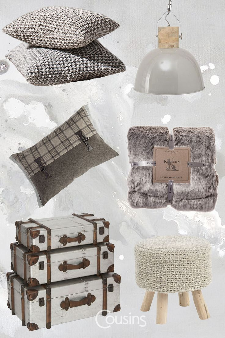 A key to creating a stylish space this Autumn is texture. Natural materials like wood and stone are complimented by soft fabrics, knitted accessories, tactile luxurious velvets and sumptuous faux furs. Knits are getting bolder and chunkier cable-knits are replacing demure weaves. All those soft and cosy textures will benefit from a contrasting accent like rattan or wicker surfaces, that will help to balance the look.