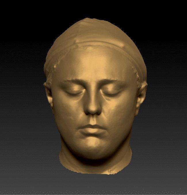 Female Head 3D Scan