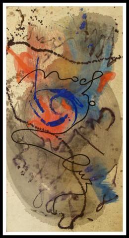 Composizione astratta | Rotelli Marco Nereo (1955) | Astratto | Dipinti Contemporanei