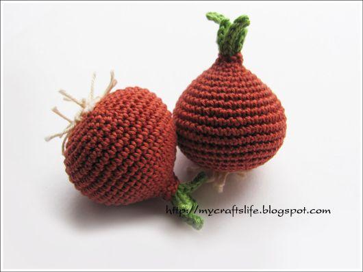 crochet onion
