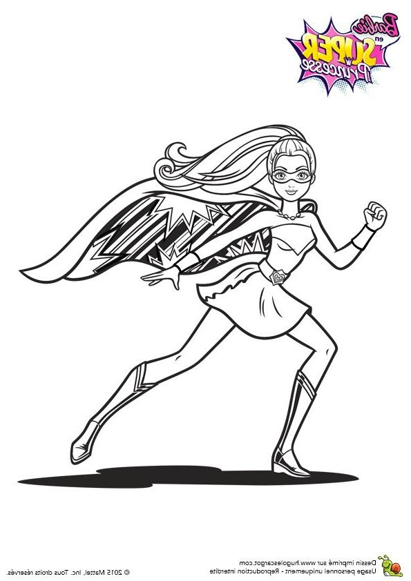 Coloriage Super Heroine 10 Meilleur De Coloriage Super