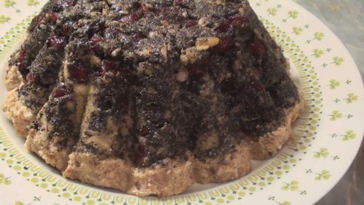 Vegán Mák torta készitése