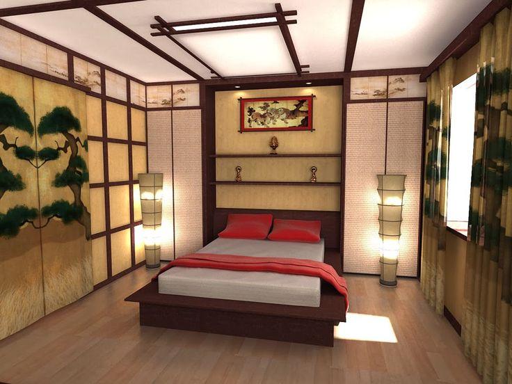 Die besten 25+ Japanese style bedroom Ideen auf Pinterest - wohnideen asiatischen stil
