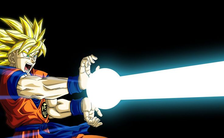Goku Kamehameha HD Wallpaper