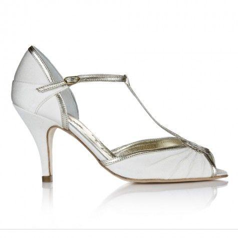 Ivory Heeled Wedding Shoes