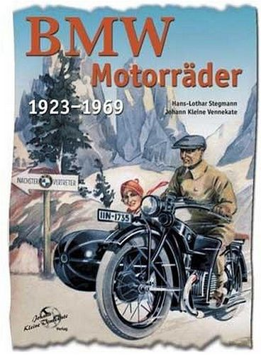 old poster-ad for BMW bike riders | by april-mo