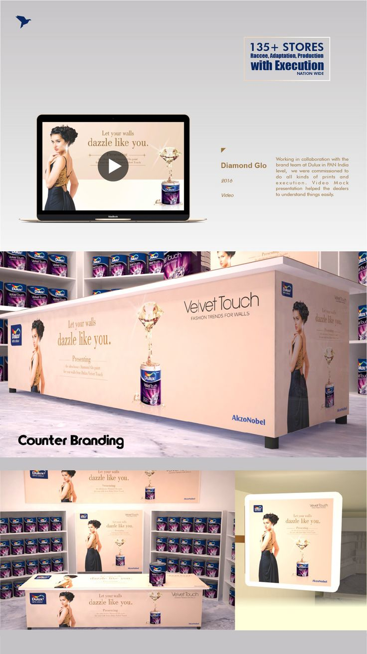 Check out my behance project in store branding execution dulux https