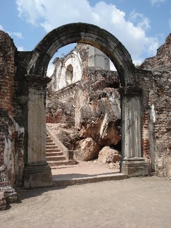 The ruins of La Recoleccion, Antigua, Guatemala. Getting married here in April.