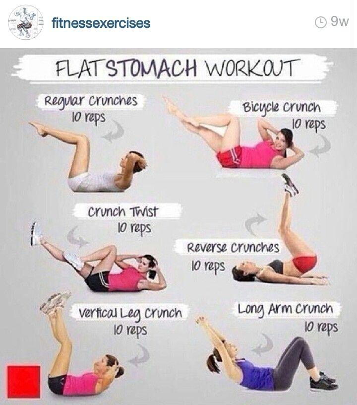 flat stomach workouts - photo #8