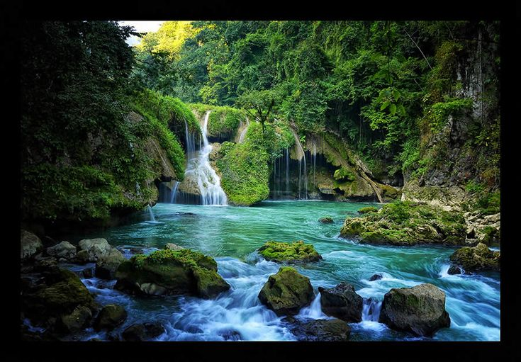 River Cahabon in Coban, Guatemala.. Our next adventure I hope!!