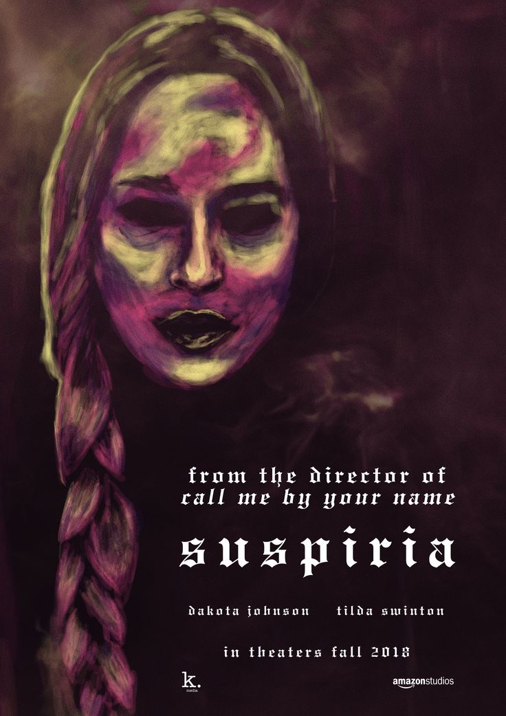 Suspiria (2018) movie poster | Movie Posters in 2019 ...