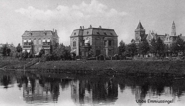 De Ubbo Emmiussingel in Groningen omstreeks 1916