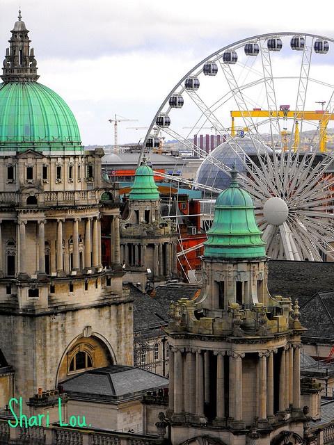 Belfast City, Northern Ireland-!