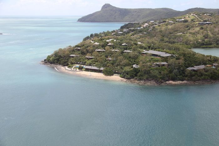 Qualia Resort Hamilton Island from the Air http://www.tipsfortravellers.com/hamilton-island-great-barrier-reef-australia-tips-travellers-audio-podcast-159/
